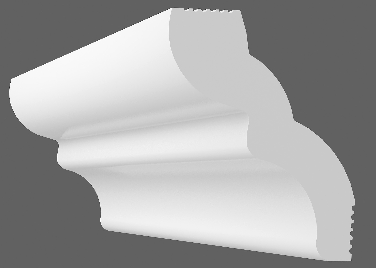 Потолочный плинтус F-35 (Размер:30х30мм)