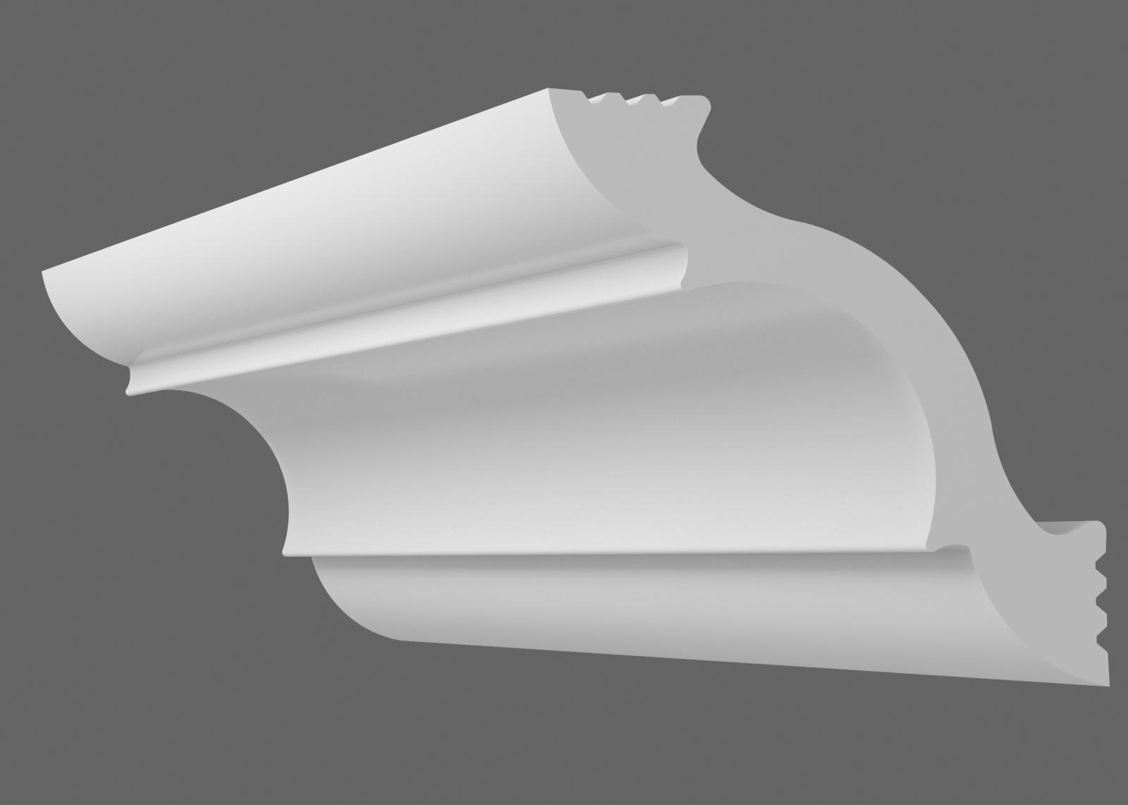 Потолочный плинтус K-45 (Размер:35х35мм)