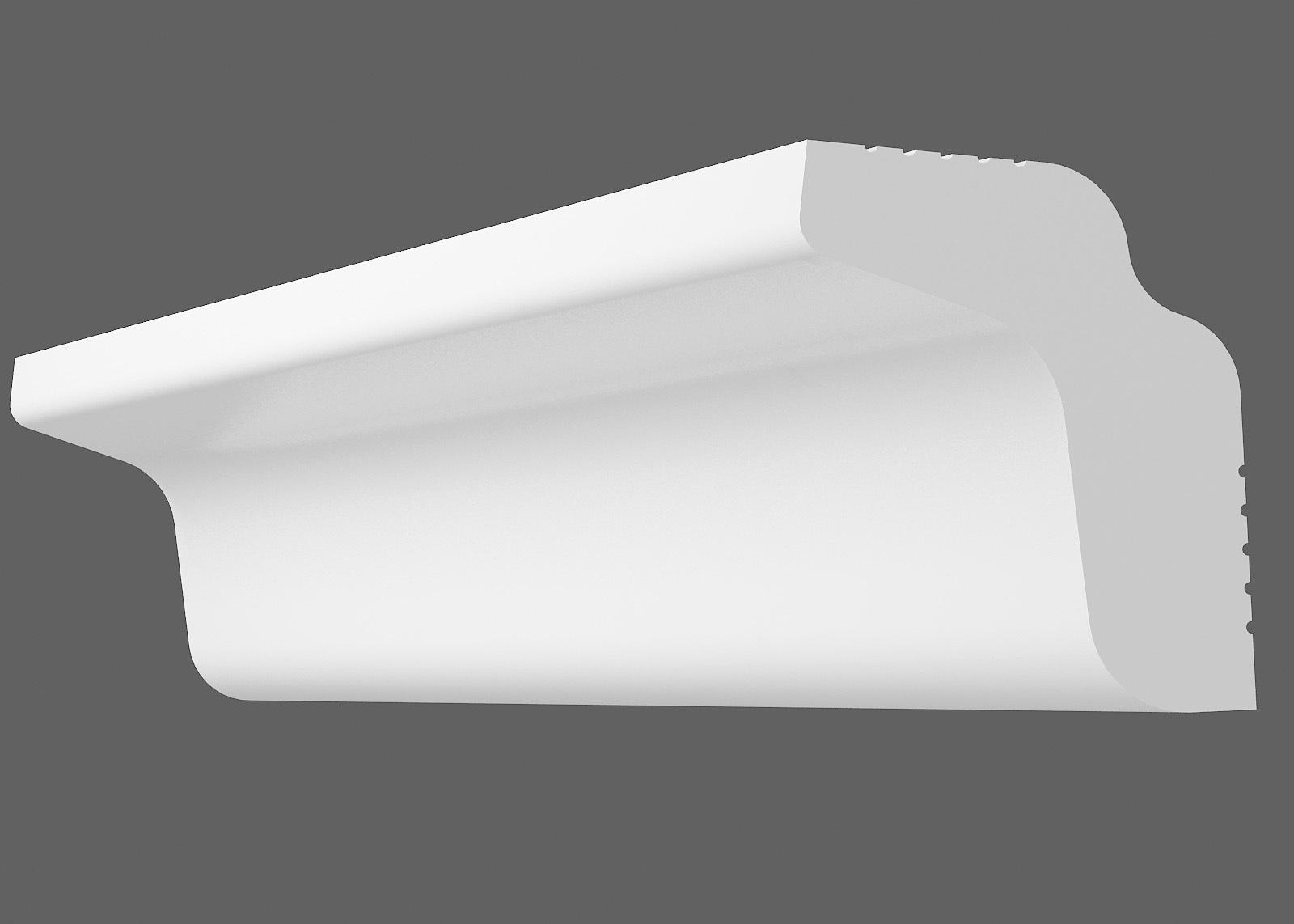 Потолочный плинтус M-25 (Размер:20х25мм)