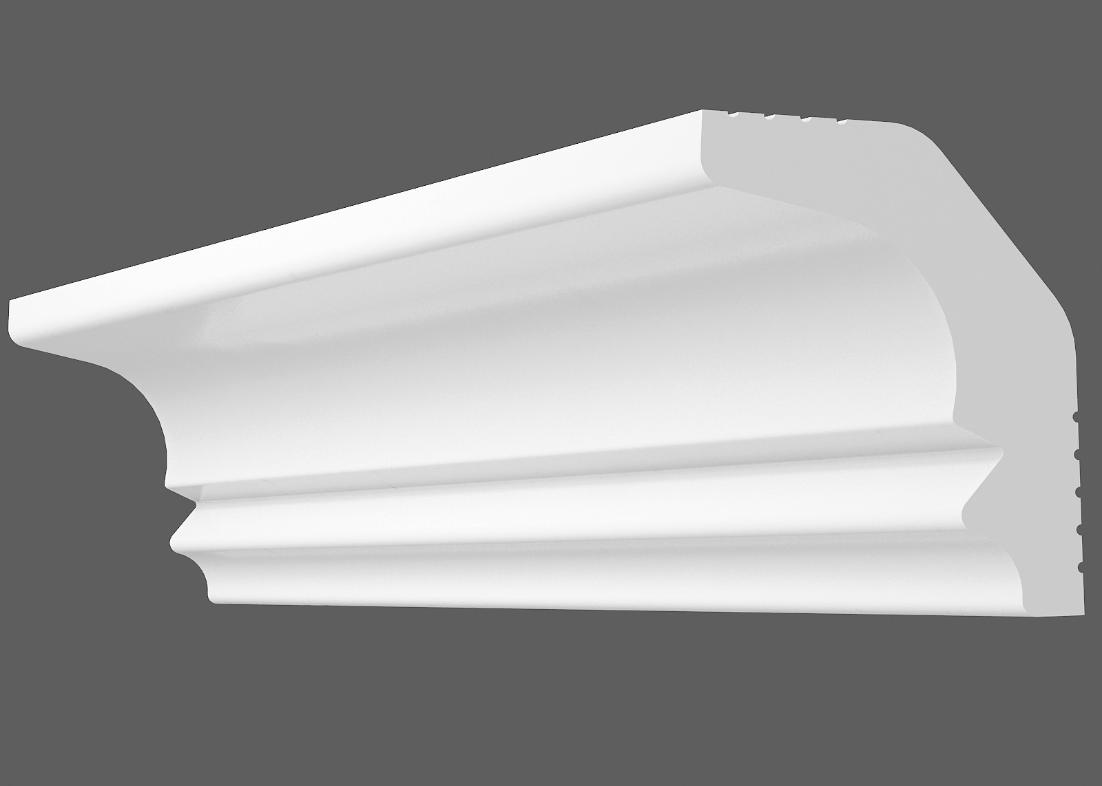 Потолочный плинтус M-30 (Размер:20х25мм)