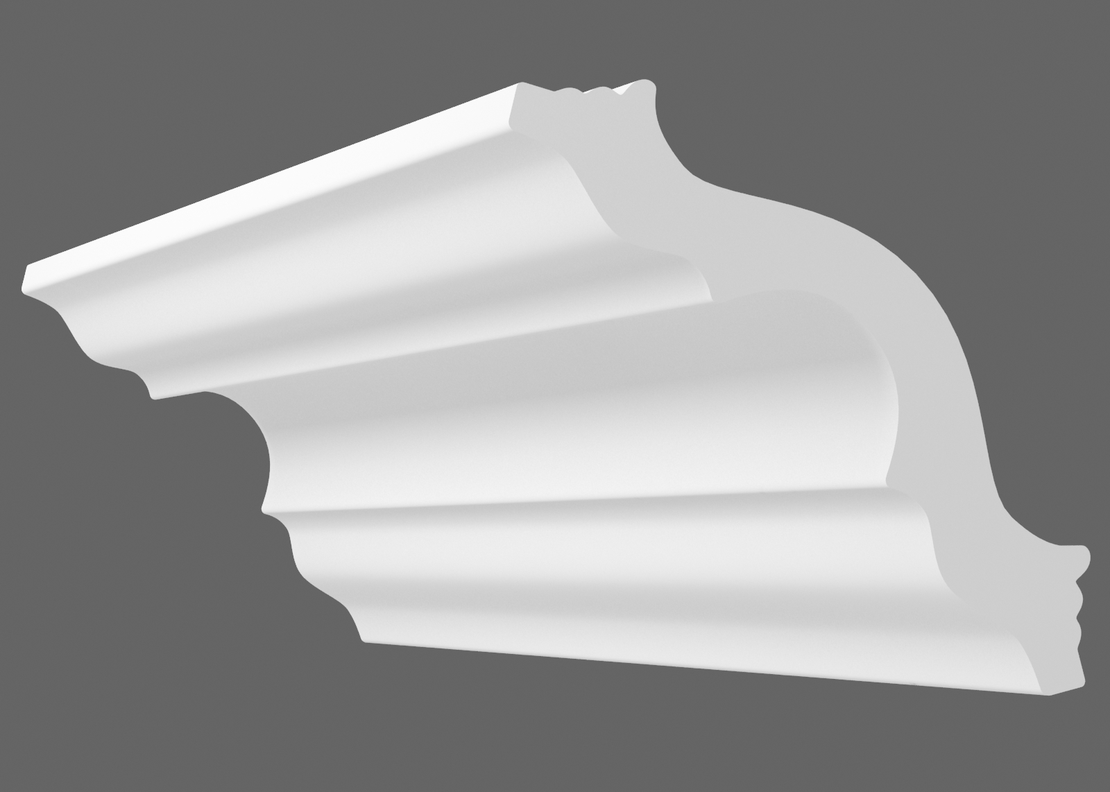 Потолочный плинтус T-45 (Размер:35х35мм)