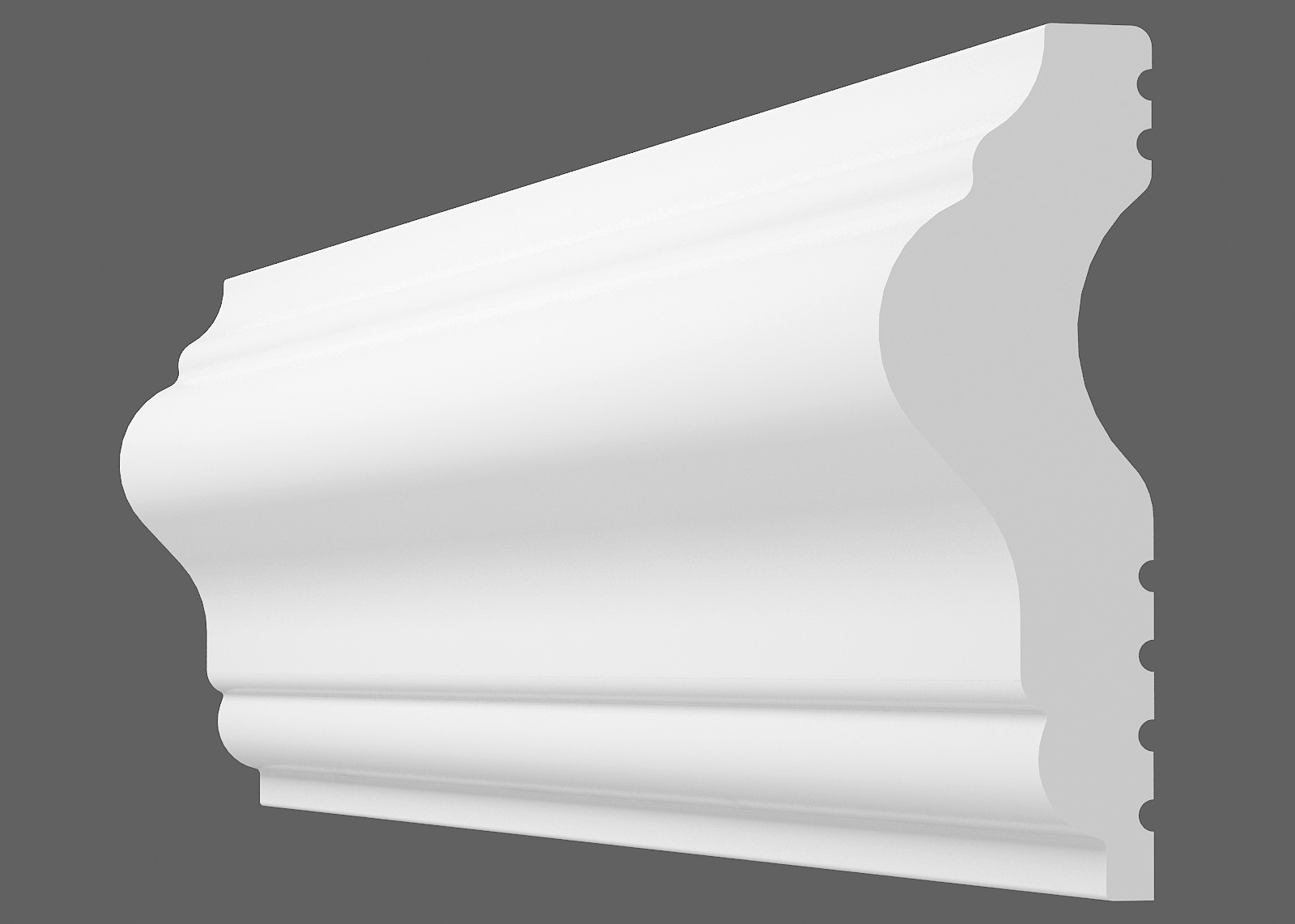 Потолочный плинтус U-40 (Размер:15х40мм)