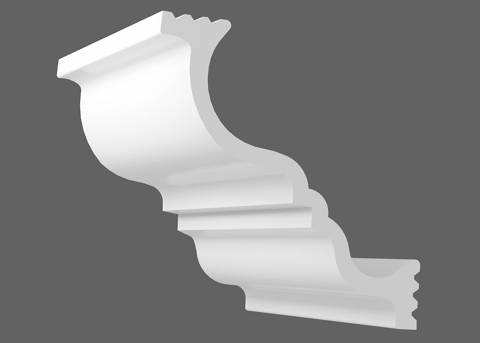 Потолочный плинтус Z-150 (Размер:105х105мм)